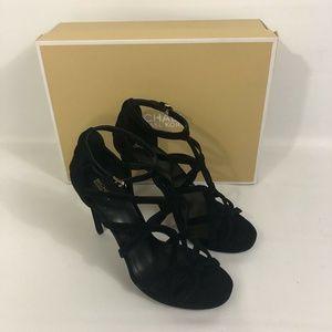 d908bcc9289e Michael Kors. Michael Kors Sandra Platform Caged SZ 10 Sandals. NWT